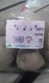 みなみちゃんのイモ